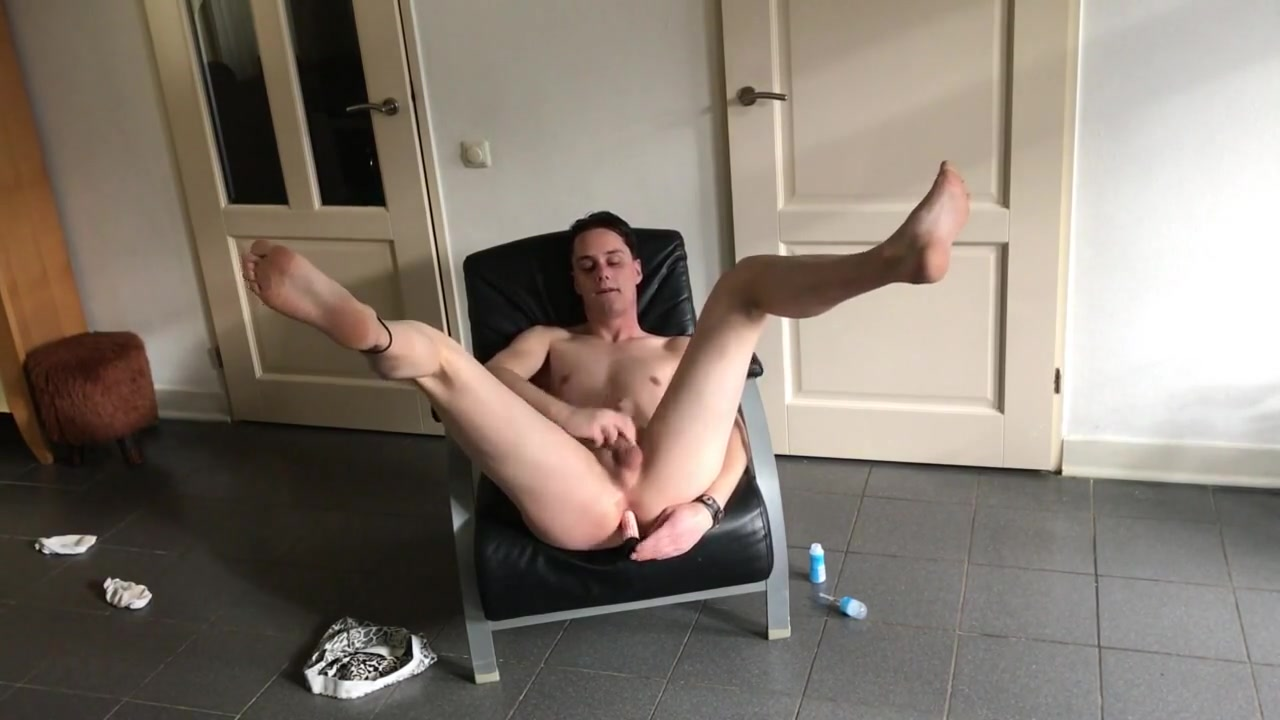 Twink enjoys his dildo sexest girls having sex and peeng