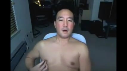 Asian Daddy on cam again You spank men