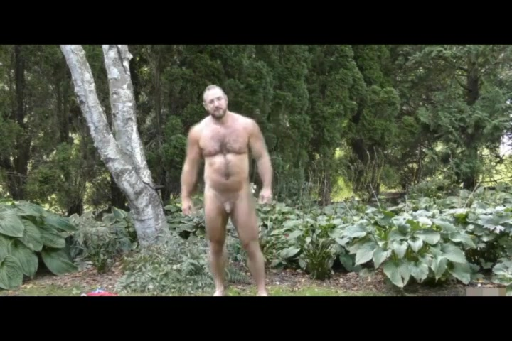 Very hairy beefy mature muscle bear Gang Bang Pictures