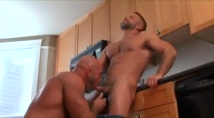 Horny gay clip with Muscle, Bears scenes Chubby mature masturbates and squirts