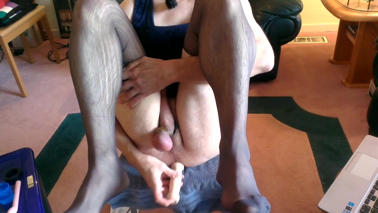 Surprise under the blue dress part 3 of 4 Brittany head her shaved why