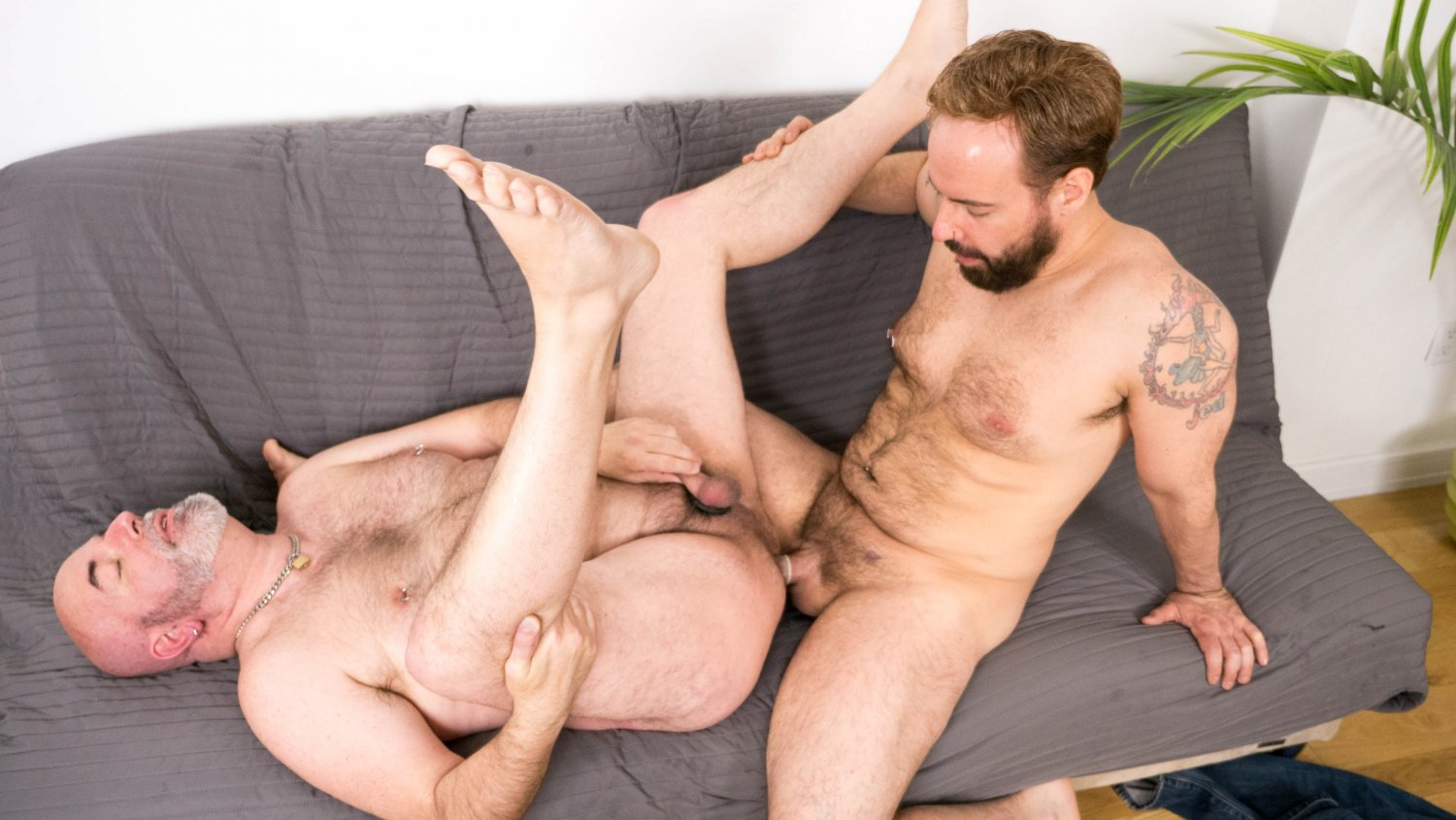 Sam Black and Rob Foster - BearFilms Mature amateur wife mmf threesome
