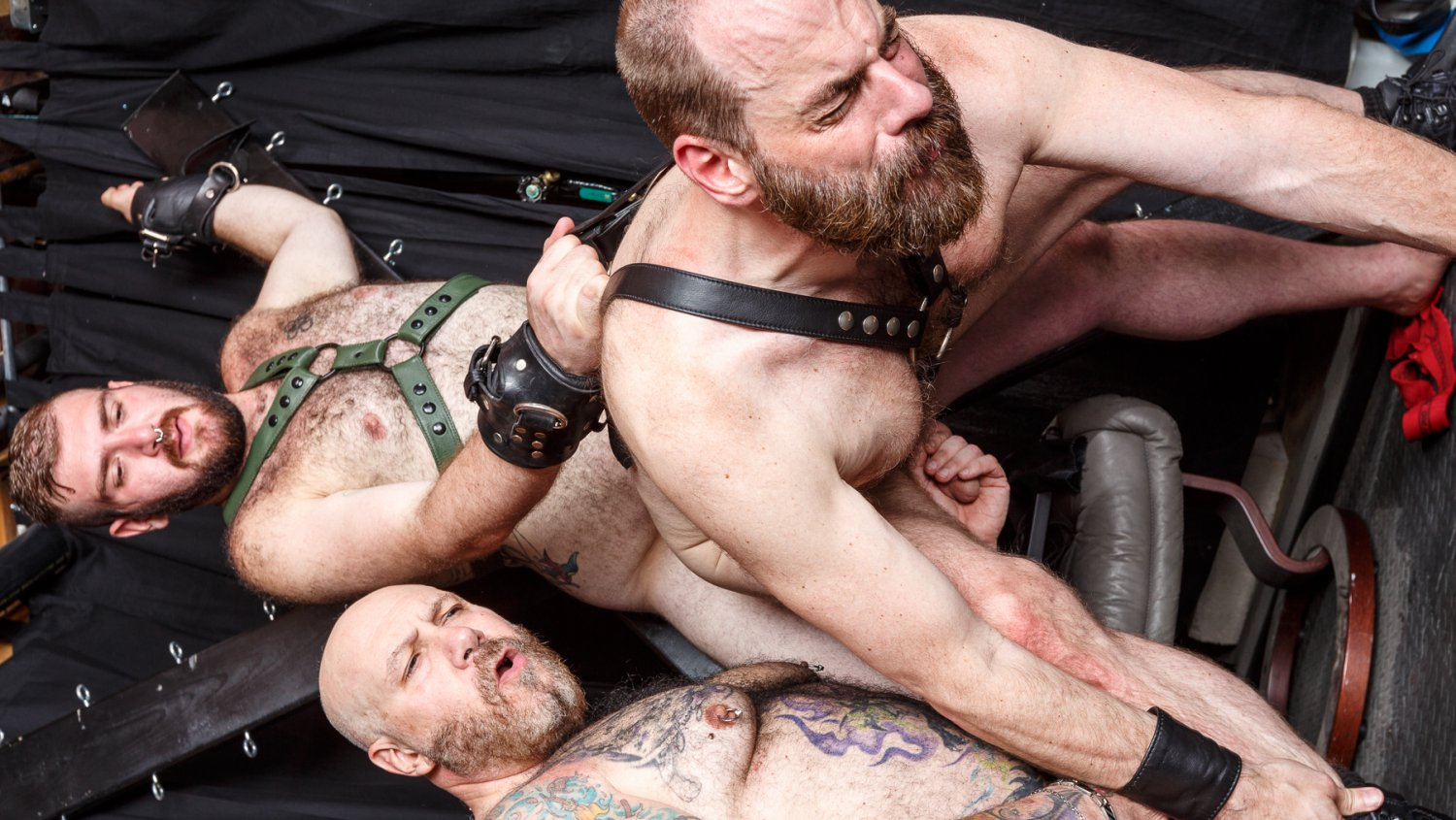 Daddy Cub, Steve Sommers, and Daddy Lucas - Part 2 - BearFilms Naked penis and vegina