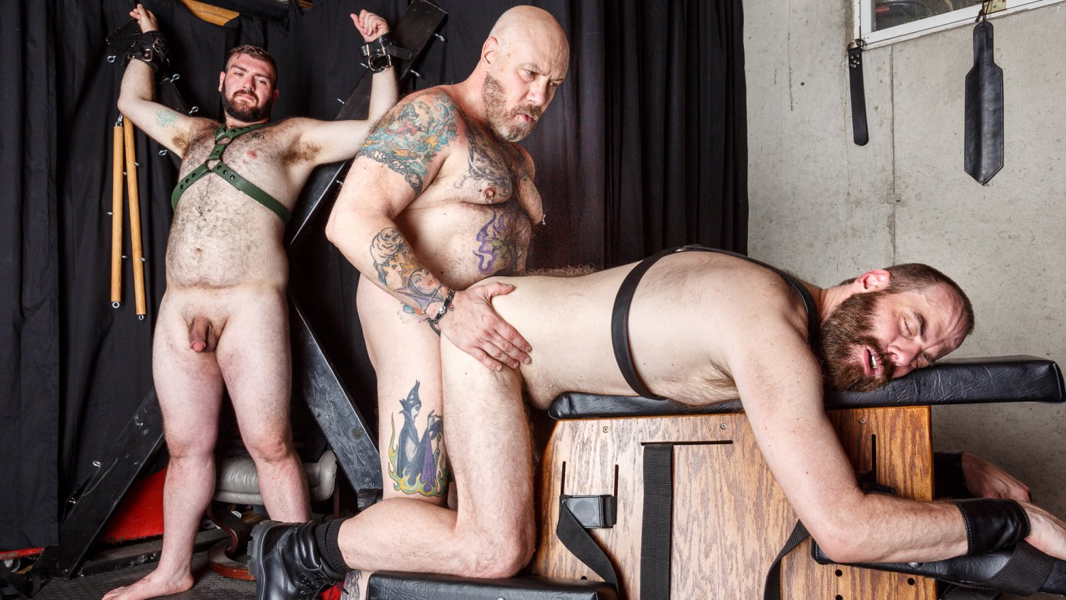 Daddy Cub, Daddy Lucas, and Steve Sommers - BearFilms Nice manga xxx