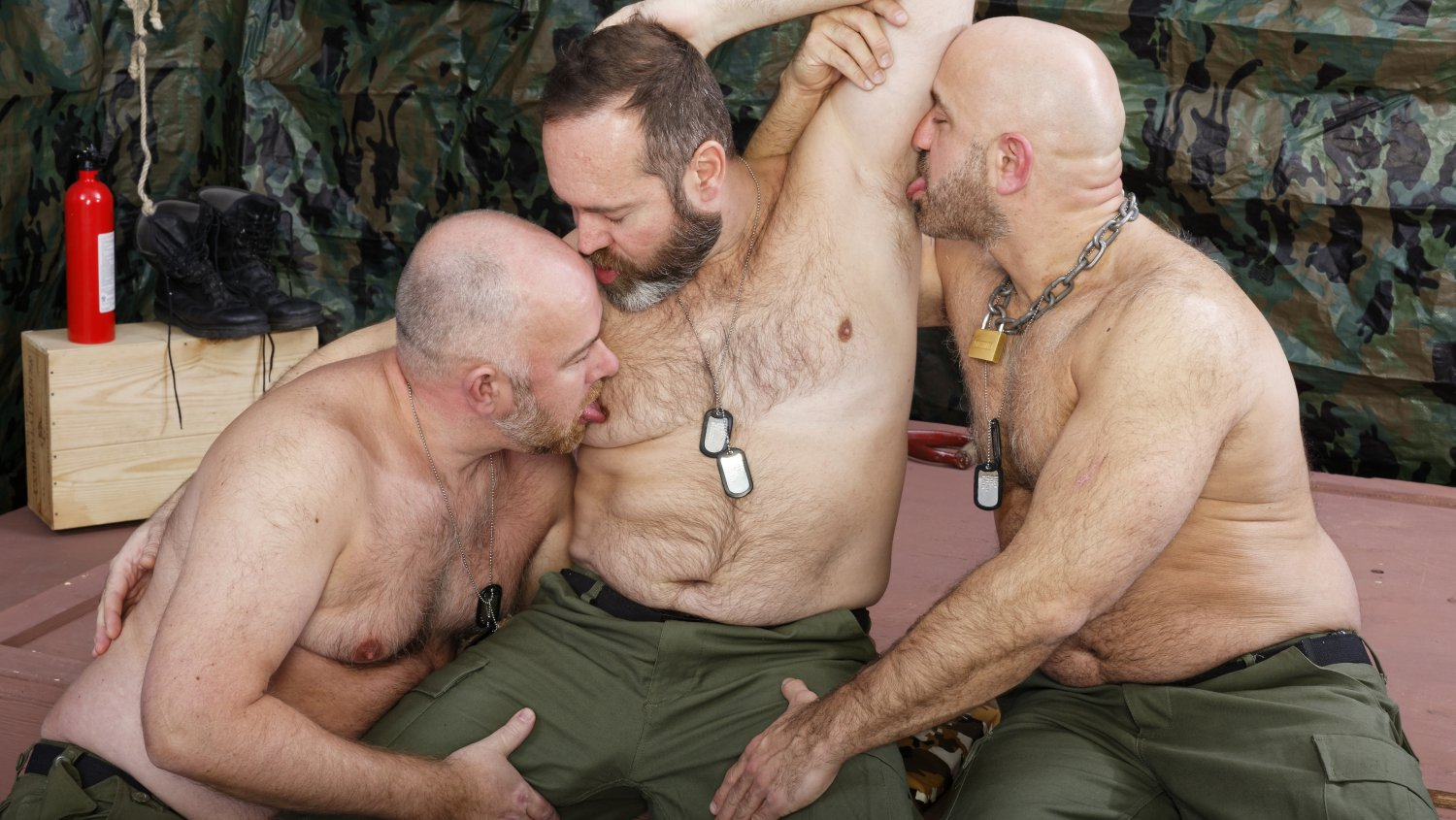 Guy English, Joe Hardness and Sam Wyze - BearFilms Is my site up or down
