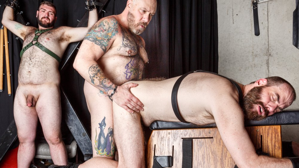 Daddy Cub, Steve Sommers and Daddy Lucas - BarebackThatHole Milfwhore com