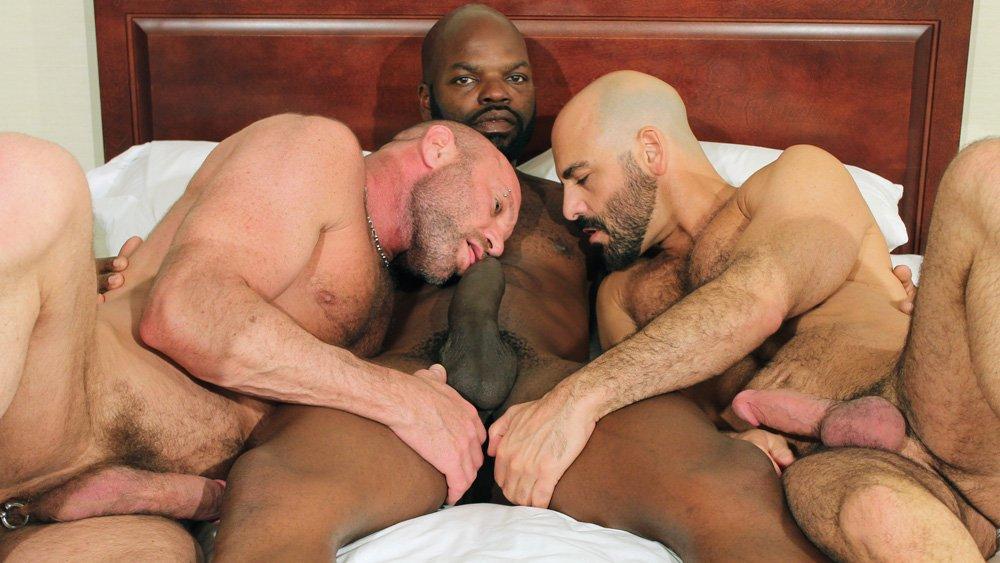 Cutler X, Adam Russo and Chad Brock - BarebackThatHole Anli Porn Xxxx