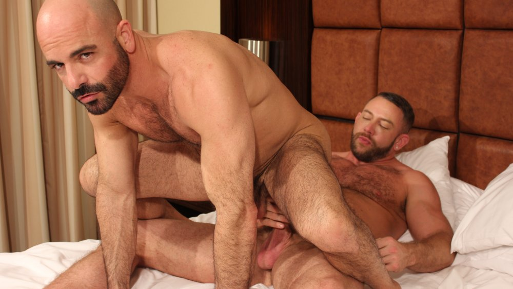 Shay Michaels and Adam Russo - BarebackThatHole We called it Sexercise!