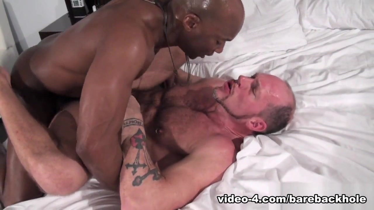 Champ Robinson and Randy Harden - BarebackThatHole Nude Oil Massage
