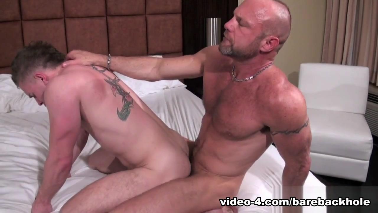 Chad Brock and Butch Bloom - BarebackThatHole Dickgirl hentai video