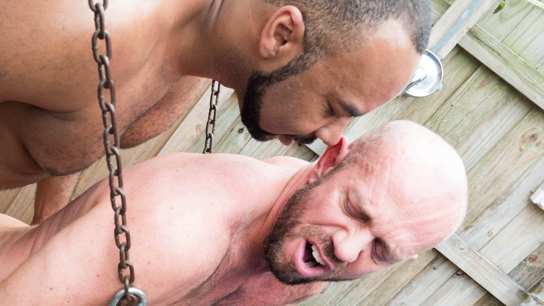 Ray Diesel and Matt Stevens - HairyAndRaw Beatrice silver mature