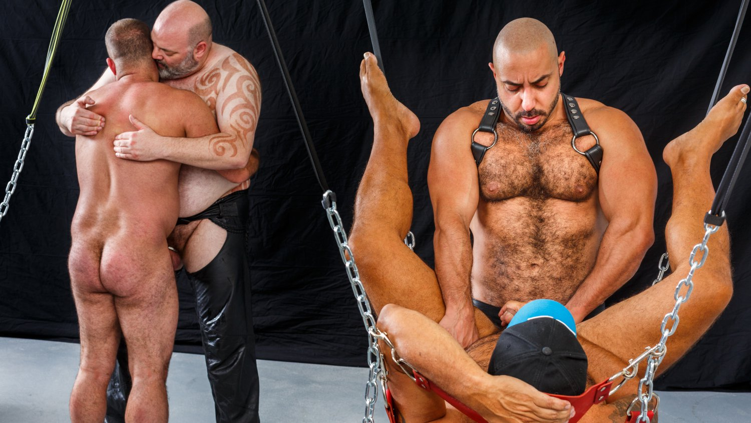 Sling Gang Bang Part 3 - HairyAndRaw hard porn sex gallary