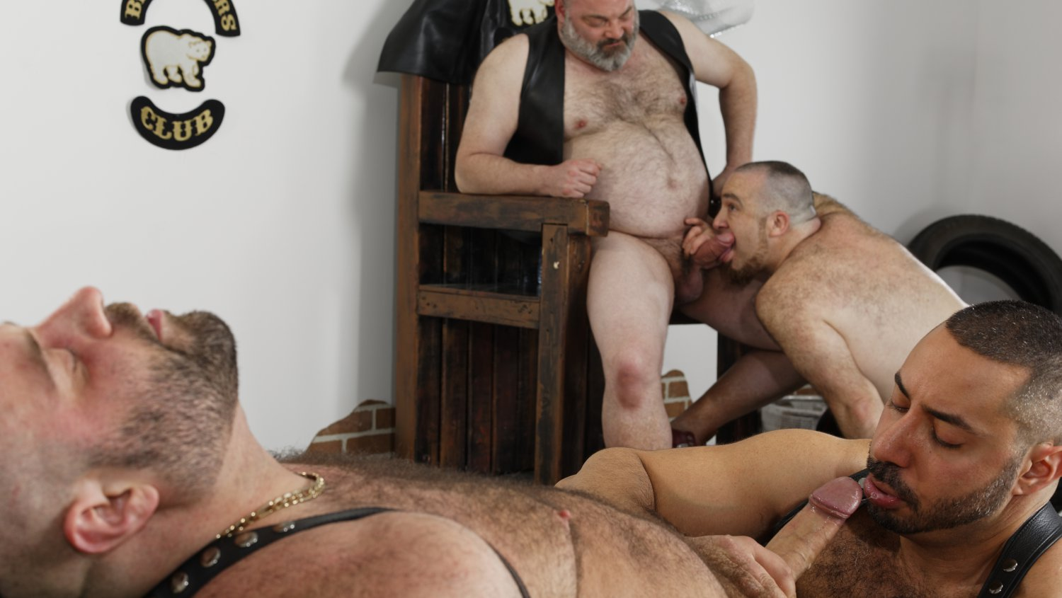 A. Badri, T. Riant, B. Nastee and M. Angel - HairyAndRaw Xmovie Com