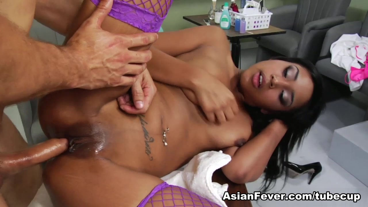Katt Dylan in Asian Sex Delinquents: Pedicure Pussy Real hermaphrodite porn pics