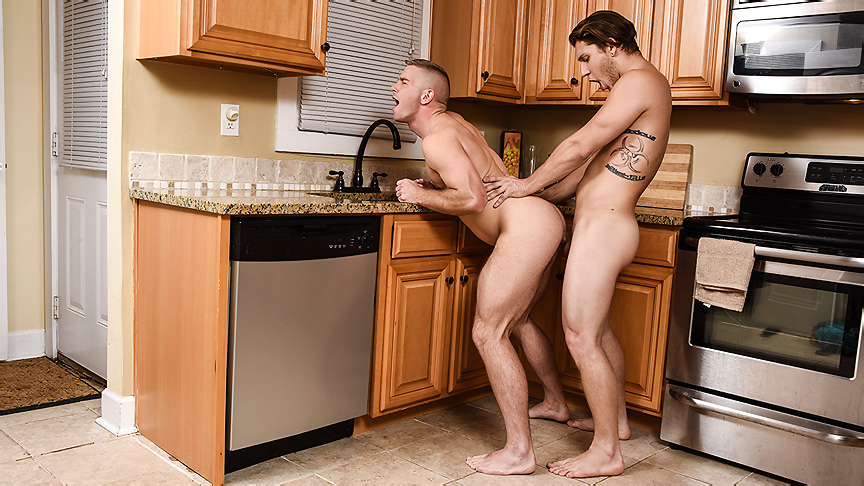 Paul Canon & Scott Riley in Split Personality Part 3 - DrillMyHole Hot swedish with big boobs