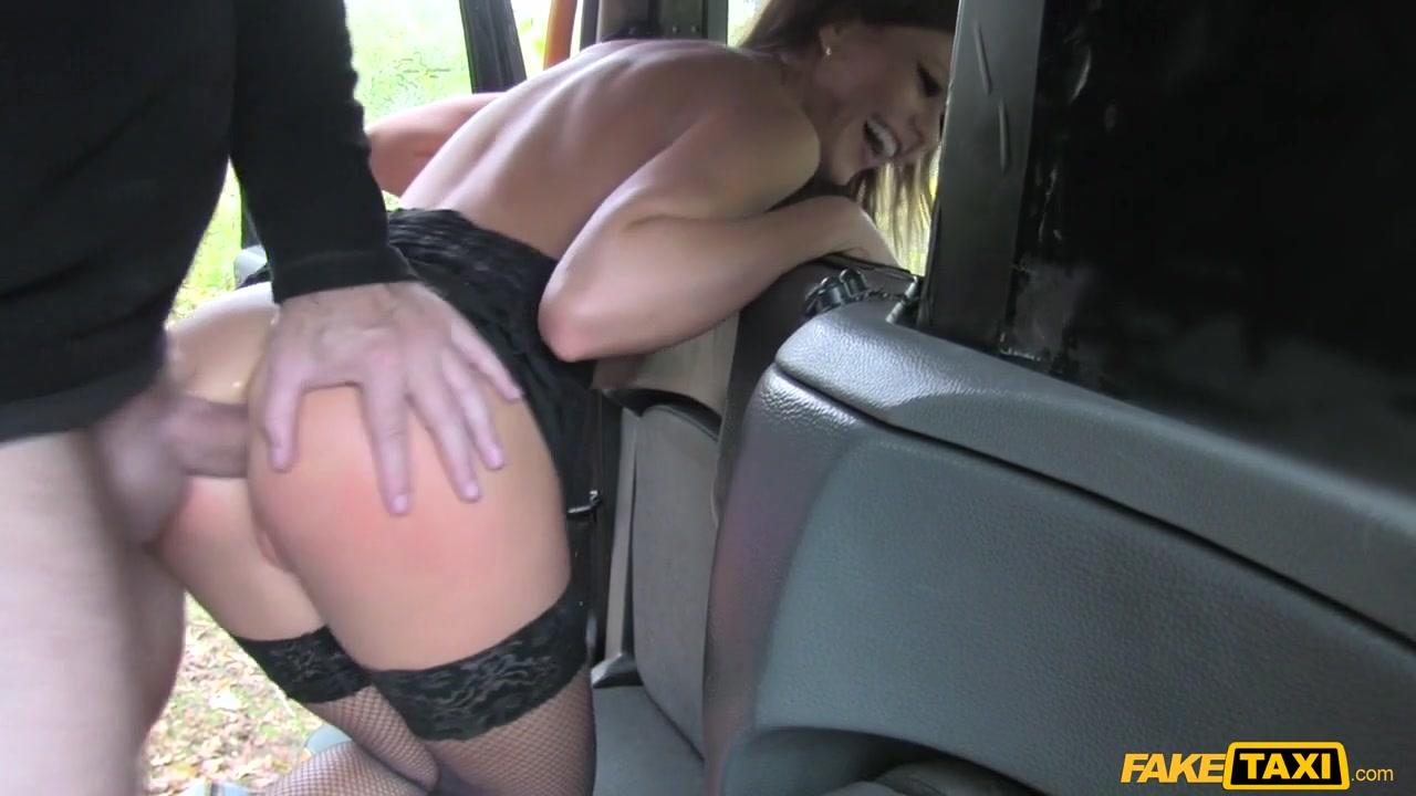 Hot Posh Lady Seduces Driver - FakeTaxi