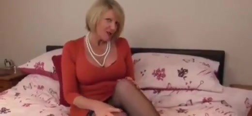 Europe Matures Hot big tits milf does first porn