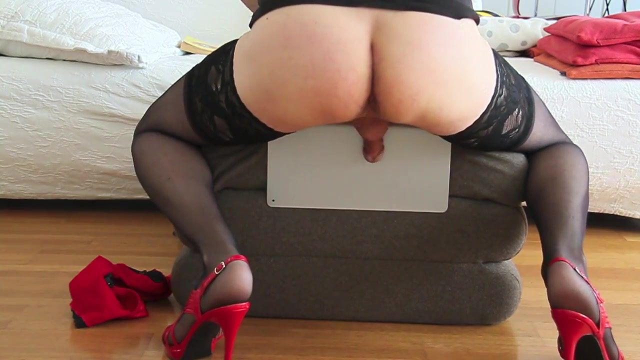 Black Dildo -Red High Heels- Black Stockings free gymnist mature interracial fucking videos