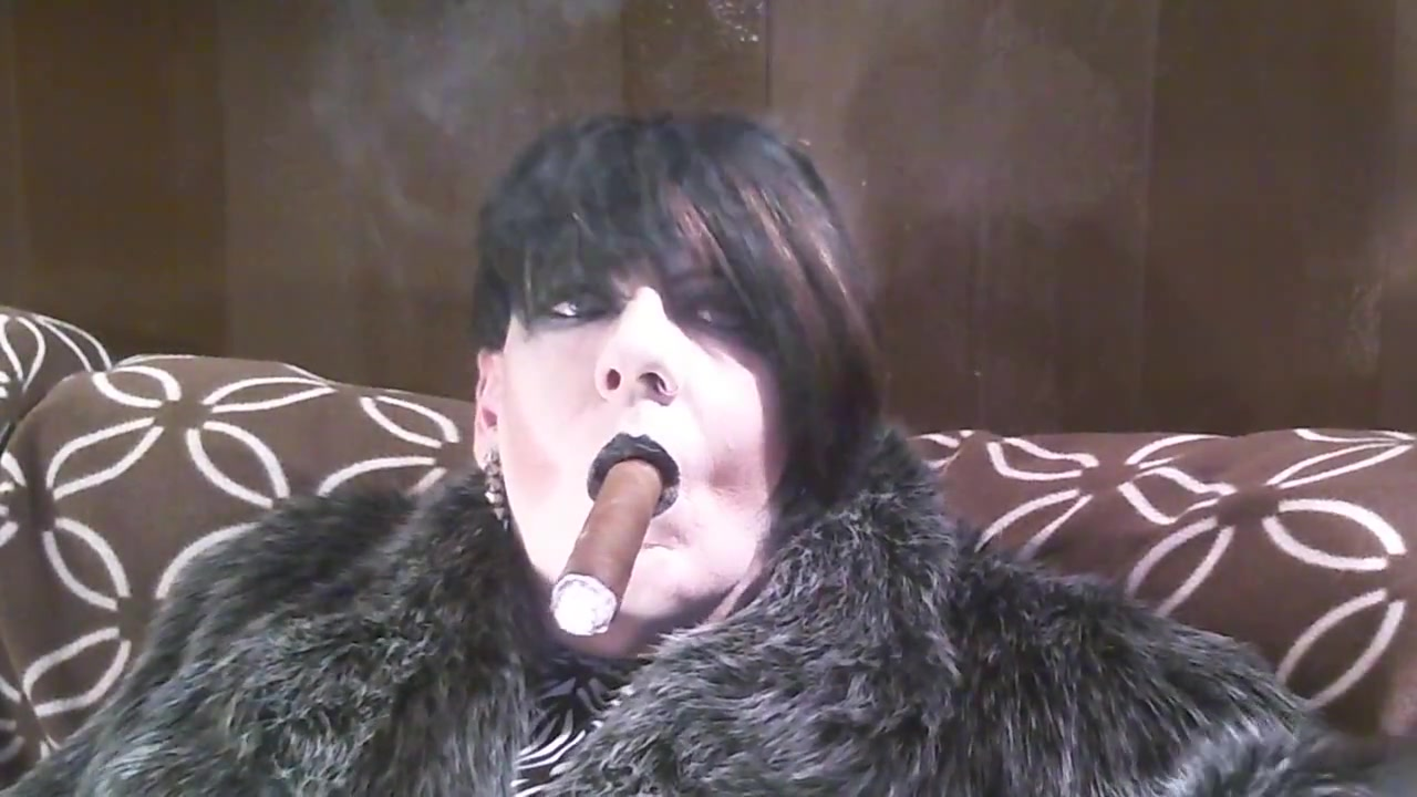 Fur and a cigar. escort in jersey new shemale
