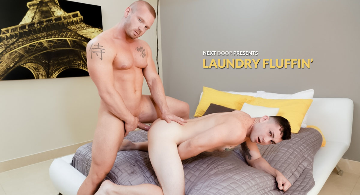 James Huntsman & Johnny Riley in Laundry Fluffin - NextDoorBuddies free porn mpeg videos