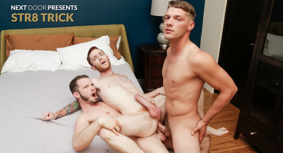 Seamus ORilley & Bridger Watts & Asher Devin in STR8 Trick - NextDoorWorld zoe saldana large porn tube