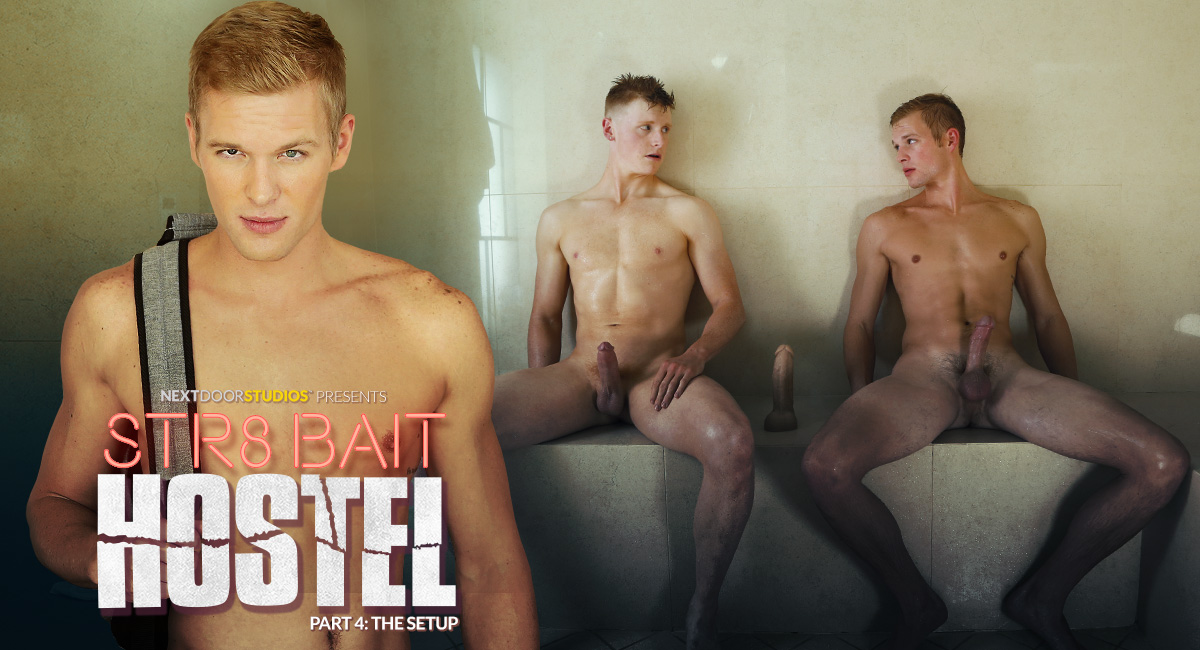Alex Tanner A & Ty Thomas in STR8 Bait Hostel: The Setup - NextDoorWorld middle age women in bikinis in porn