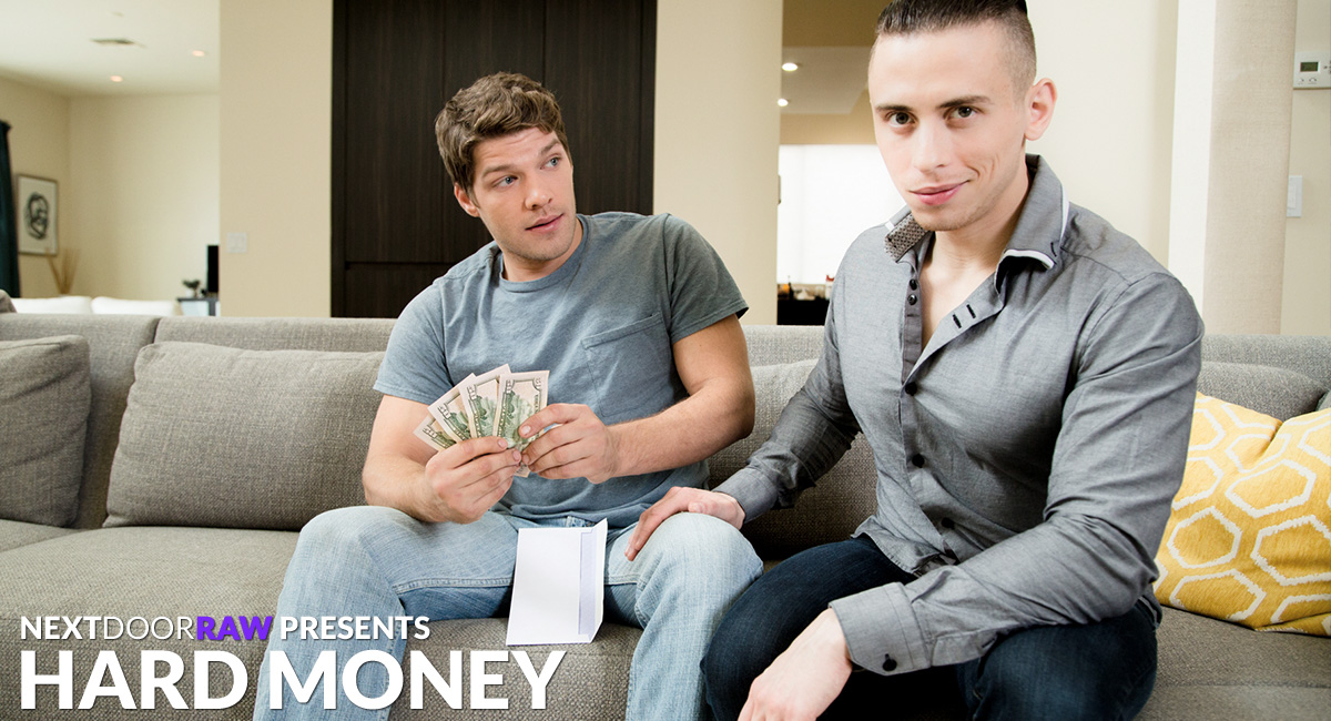 Dante Martin & Bridger Watts in Hard Money - NextDoorWorld Big dicked bi sex threesome thumbs