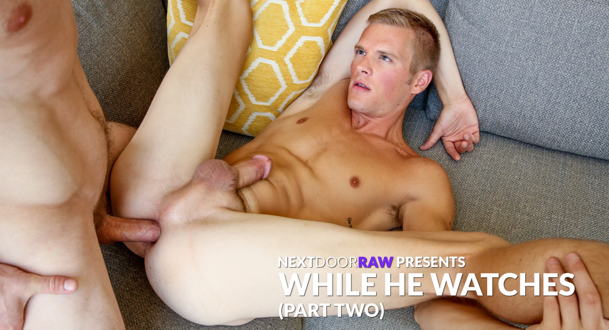 Markie More & Ty Thomas in While he Watches - NextDoorWorld Shemale solo dildo