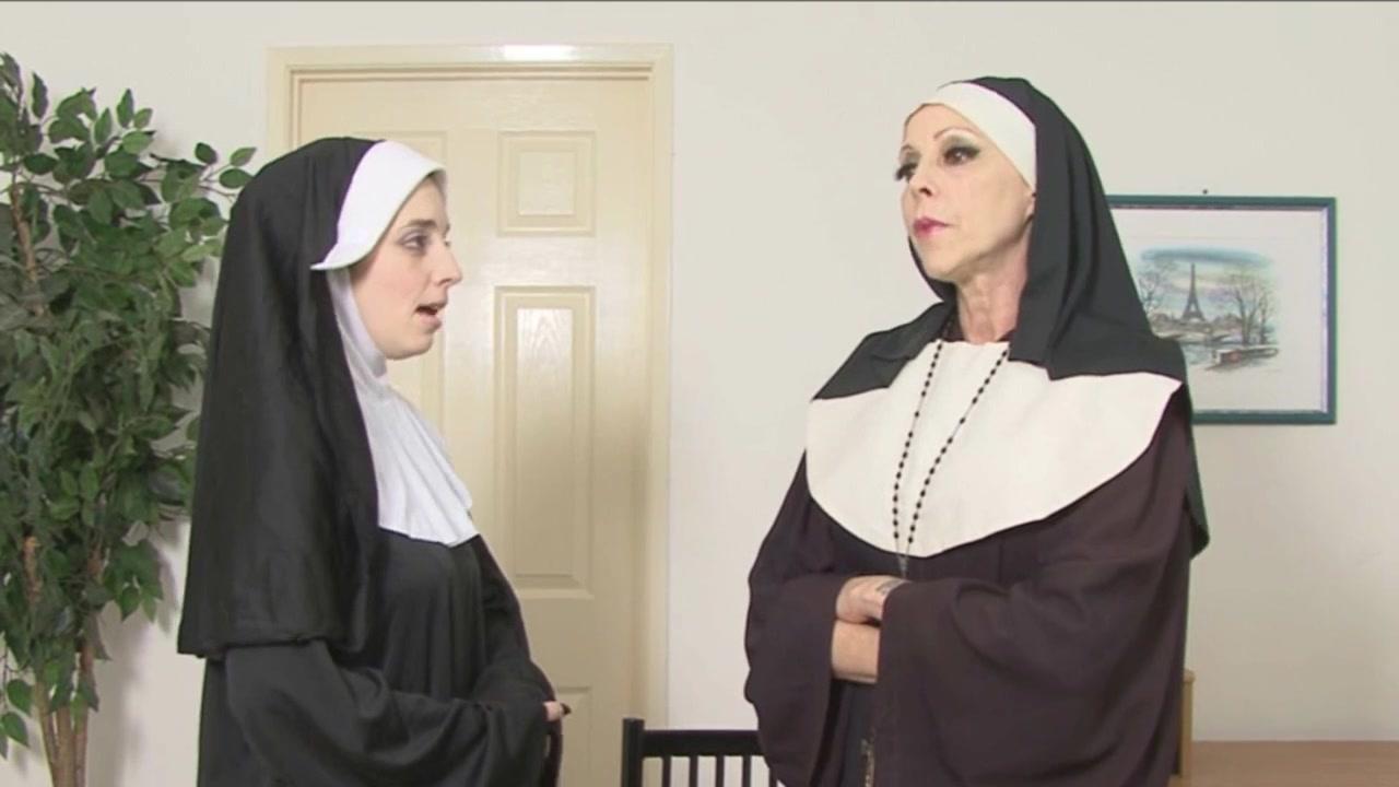 2 nuns spank ebony schoolgirl Cat lovers dating site uk