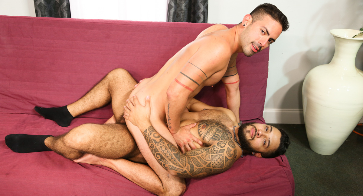 Cesar Rossi & Mario Cruz A in Big Birthday Surprise Video - MenOver38 FallingDevil has some fun with another girl
