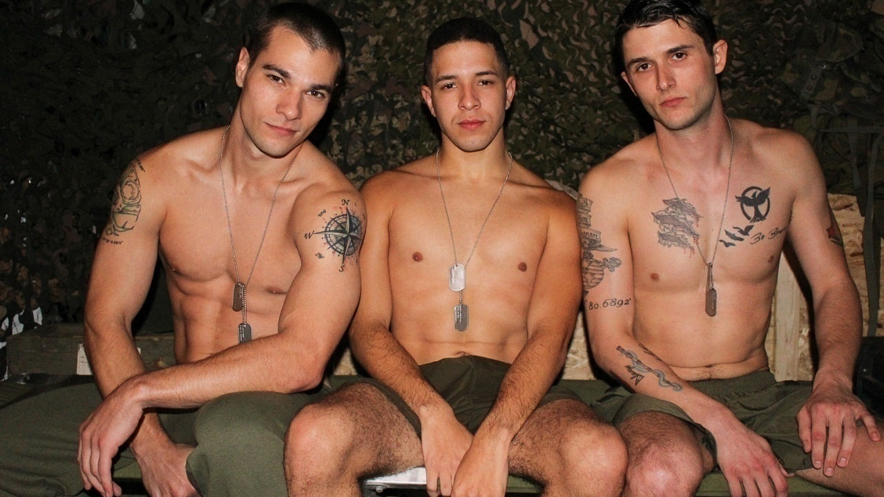 Princeton Price, Phillip Fox & Diego Military Porn Video - ActiveDuty Nude black tits cum gifs