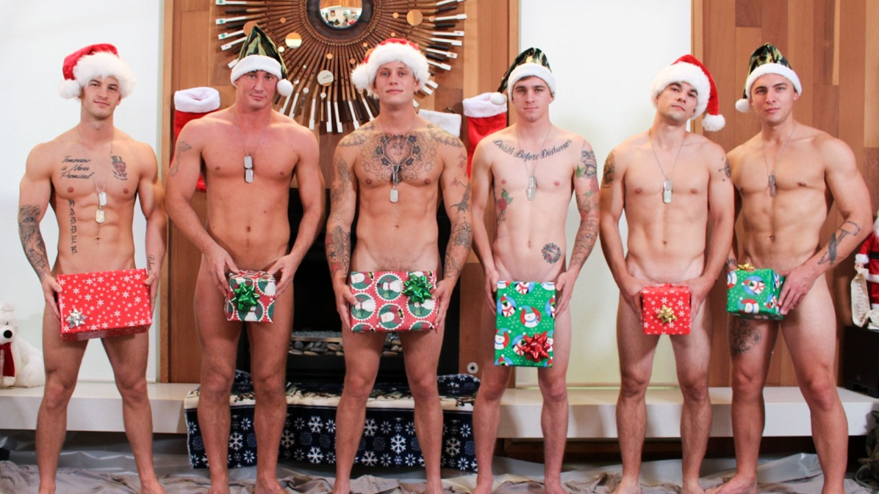 Christmas 2016 - 6-Man Orgy Military Porn Video - ActiveDuty Couples looking for 3rd person