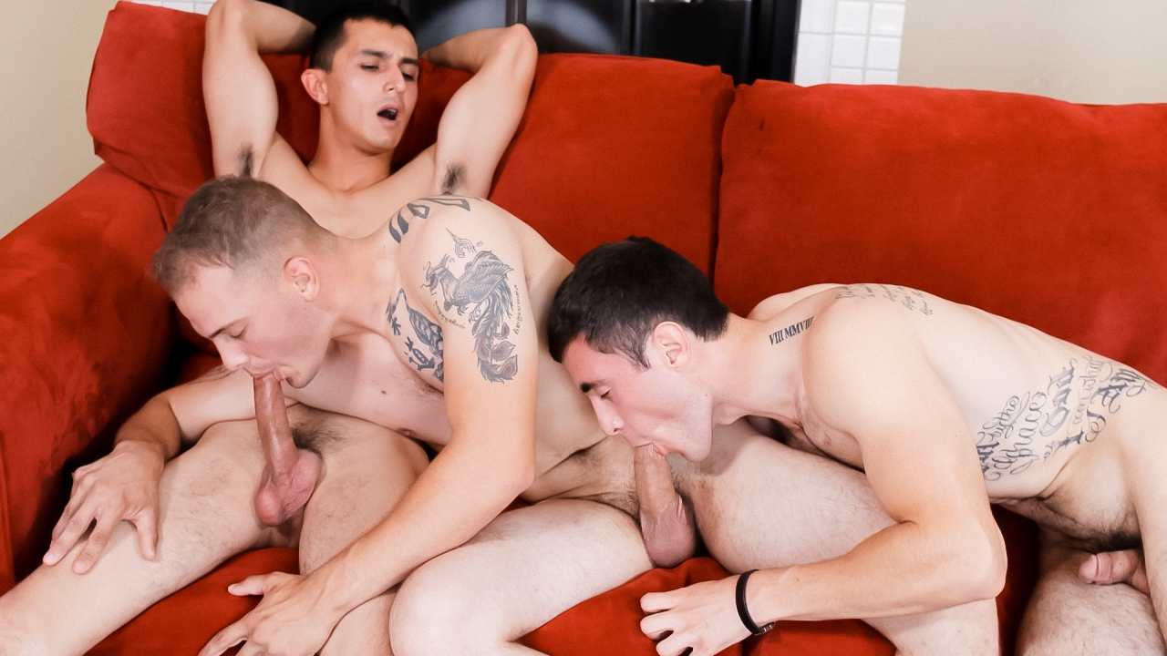 Will, Chase & Johnny Military Porn Video - ActiveDuty aspen richardsen porn interracial
