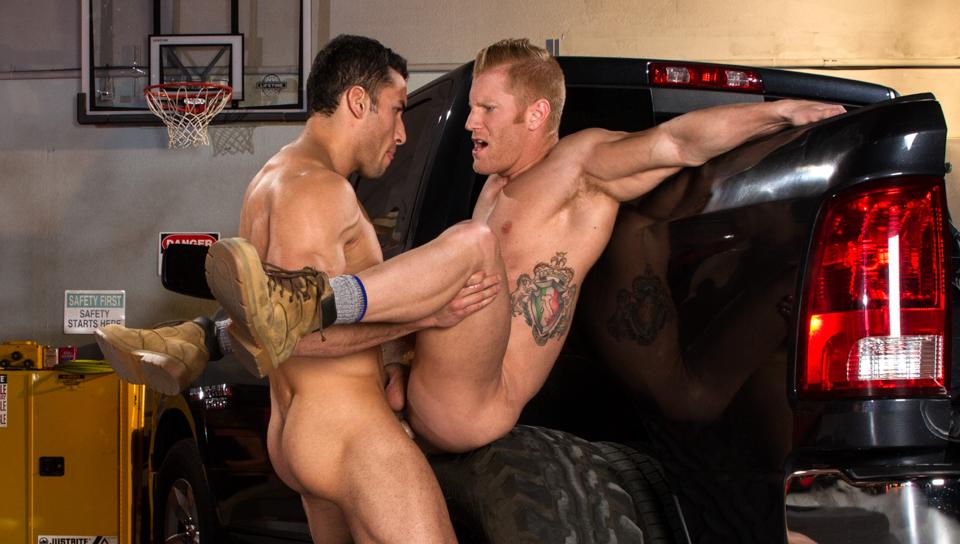 Drive Shaft XXX Video: Ricky Decker & Johnny V - FalconStudios lactating breasts video samples