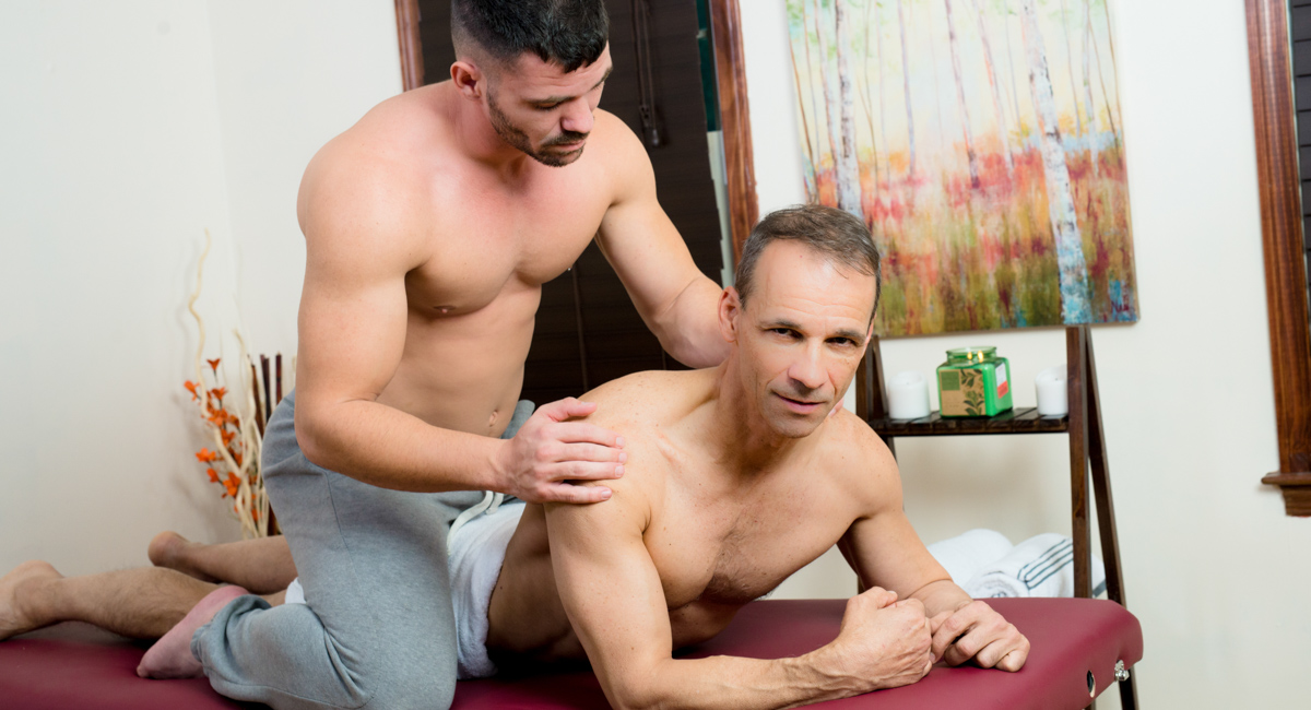 Rodney Steele & Brogan Reed in Dont Stress Daddy - IconMale Full sex photo