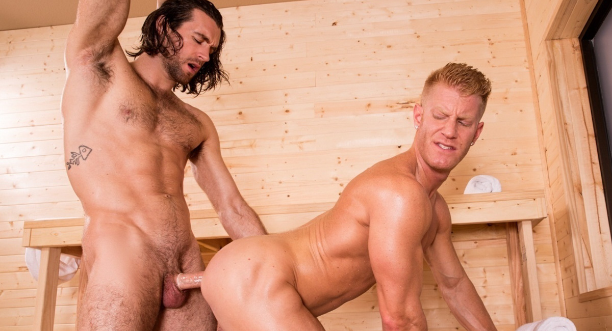 Johnny V & Woody Fox in Bathhouse Ballers, Scene #03 - HotHouse german aged woman in anal sex video anal mature german granny 2