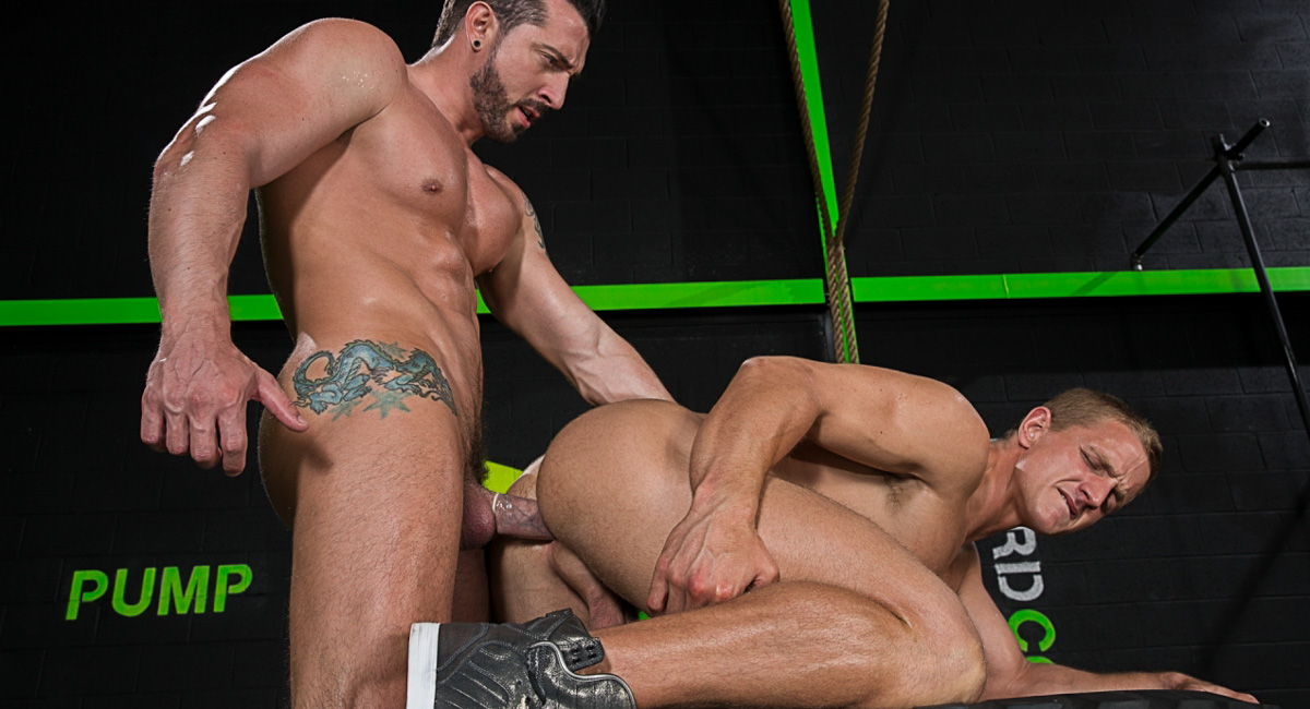 Jimmy Durano & Landon Mycles in The Trainer, Scene #02 - HotHouse swimers getting fucked sex videos