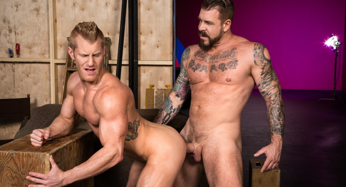 Johnny V & Rocco Steele in Backstage Pass 2, Scene #01 - RagingStallion free mobile porn on psp