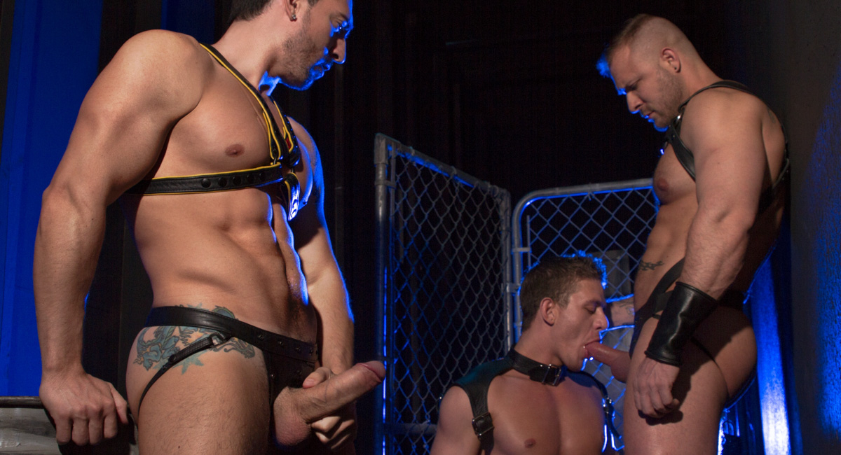 Jimmy Durano & Alexander Gustavo in The URGE - Huntin For Ass, Scene #01 - RagingStallion flash adult game 3d girl