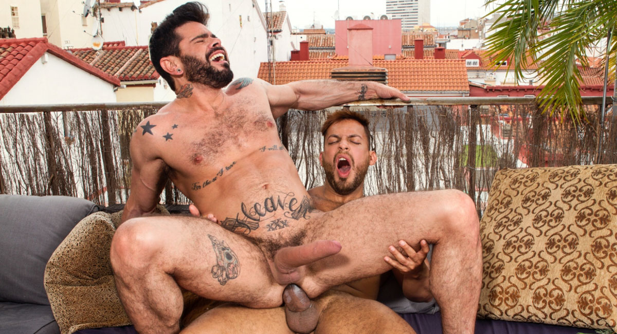 Mario Domenech & Viktor Rom in Men of Madrid, Scene #05 - RagingStallion Fuck girls in Razgrad