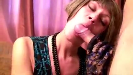 Lily wow - short hair russian milf blowjob Nice round tits and ass