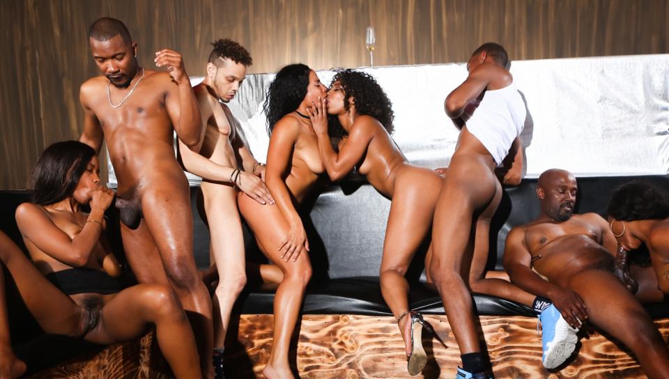 Оргии с черными порно — pic 7