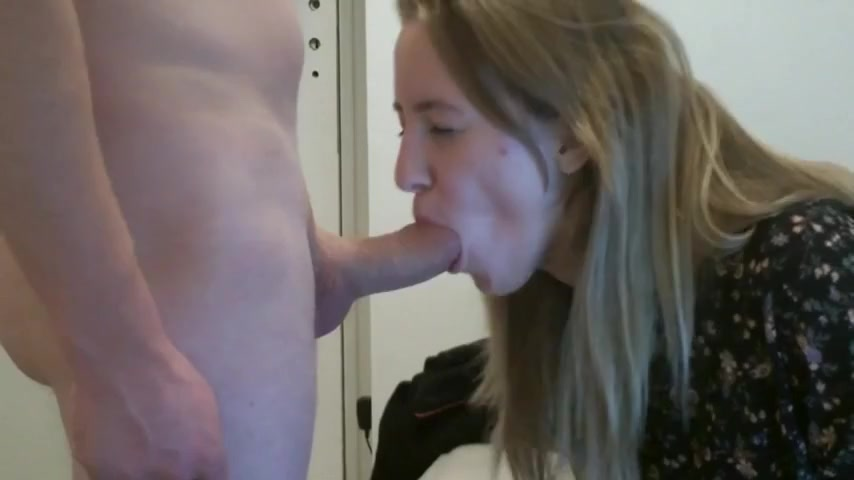 Sexy amateur blonde sucks a nice dick on cam Granns black africa mature pics