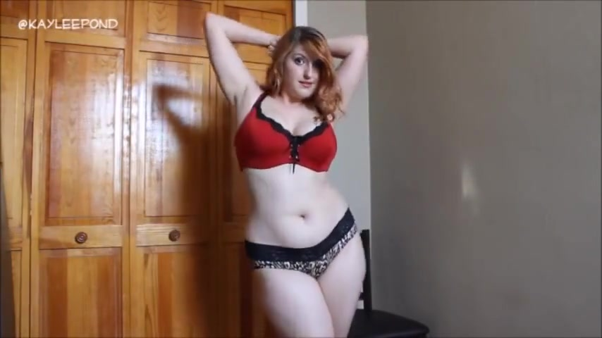 Curvy webcam show