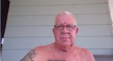 Grand pa wanking on the porche big sexy girls videos