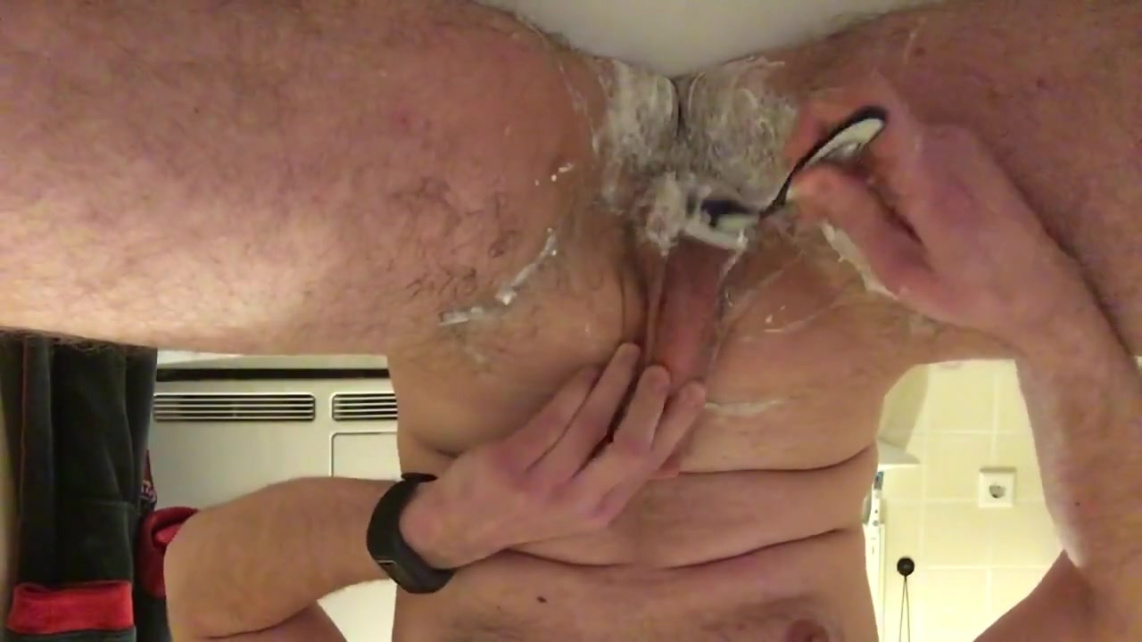 Shave wank and cum Sex clothes fat woman