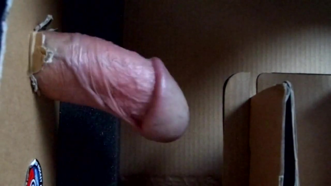 Extreme masturbation - box fucking Ladies have fun in POV