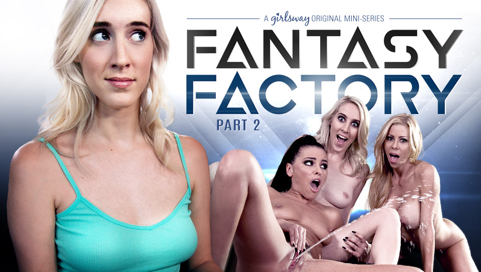 Adriana Chechik & Serena Blair & Cadence Lux in Fantasy Factory 2: Squirting Therapist - GirlsWay Sexy batgirl and supergirl