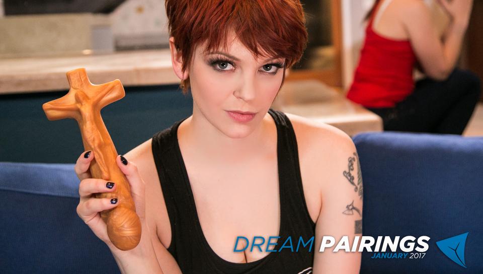 Jenna J Ross & Bree Daniels in Dream Pairings: Bree & Jenna - GirlsWay Black widow and hulk porn