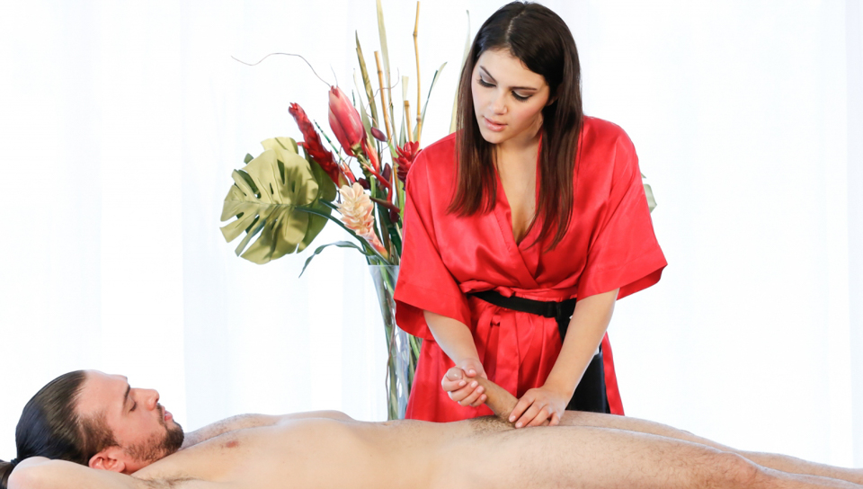 Valentina Nappi & T. Stone in Teasing Massage - FantasyMassage